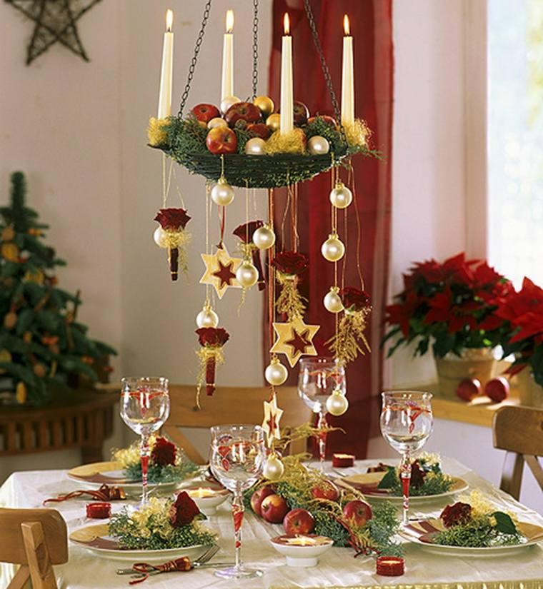 Decorar en navidad el interior de casa for Mesas de navidad