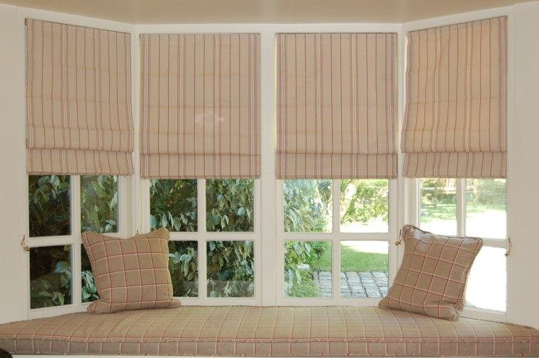 modelos de ventanas de madera salón