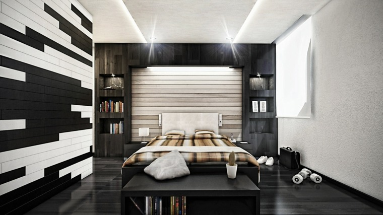 molduras de madera para paredes interiores