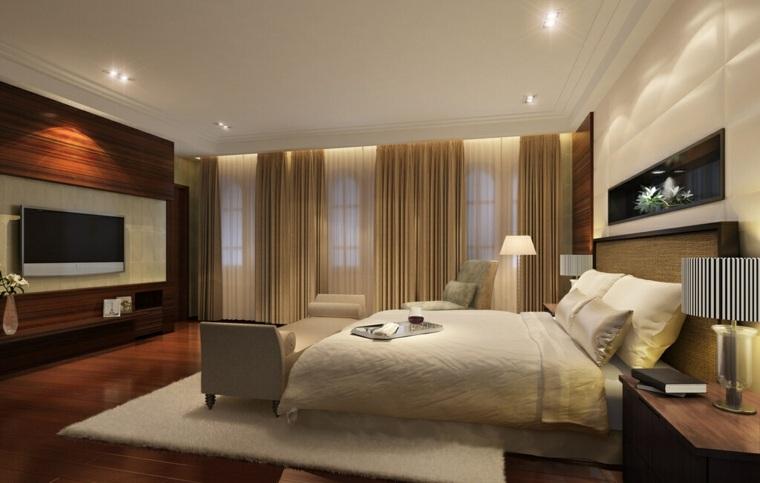Madera para paredes para el dormitorio for Molduras de madera para pared