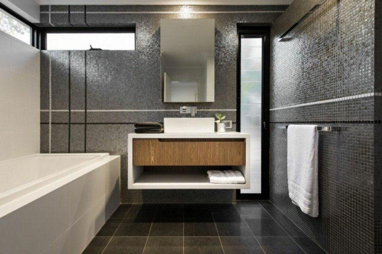 Tocadores y lavabos flotantes para el cuarto de ba o - Mueble tocador moderno ...