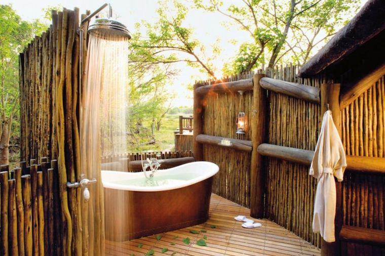 muebles de baños rústicos