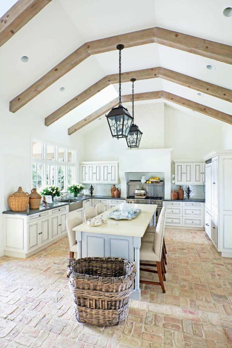 muebles-de-cocina-estilo-moderno-campestre-cesto-decorativo