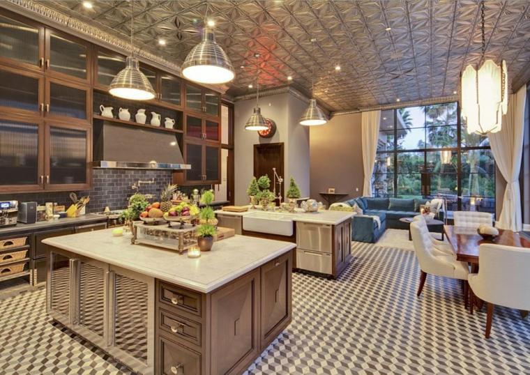 muebles-de-cocina-estilo-moderno-campestre-diseno-espacio-abierto-moderno