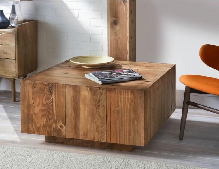 Muebles de madera para un diseño muy natural -