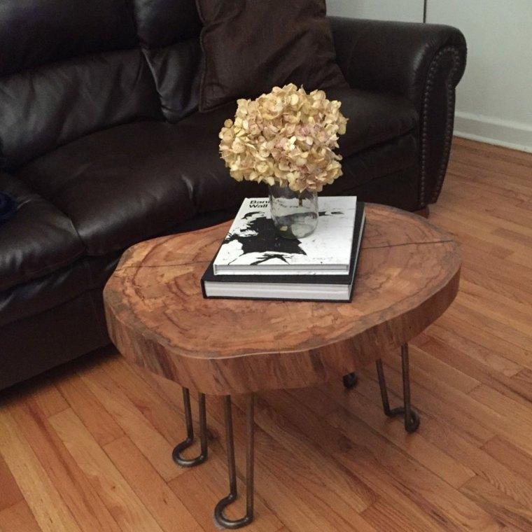Muebles de madera para un dise o muy natural for Mesitas de madera