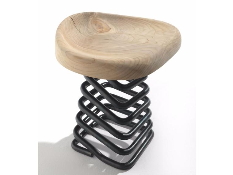 muebles madera mesita taburete opciones ideas