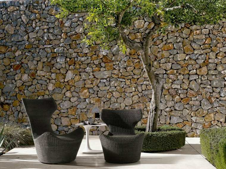 muebles diseno sillas negras naoto fukasawa ideas
