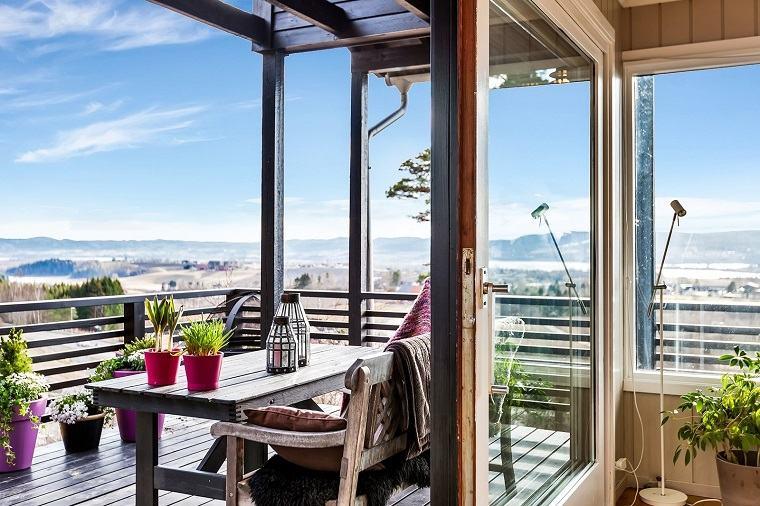 Decorar porche e ideas de muebles de exterior modernos for Porche jardin madera