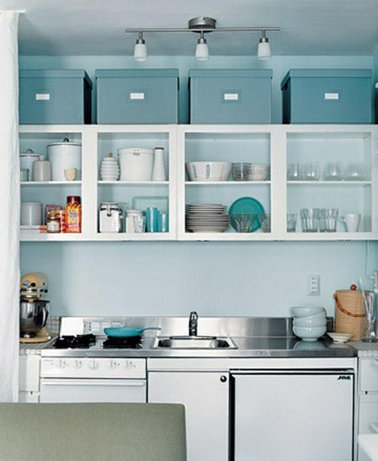 Organizar la cocina y ganar espacio - Moscas pequenas cocina ...