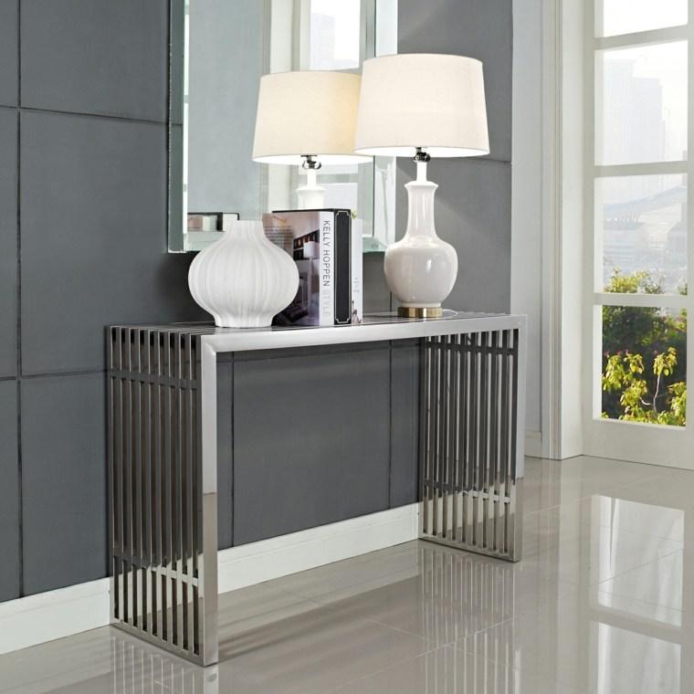 Decorar pasillos estrechos con diferentes ideas y estilos - Muebles para pasillo ...