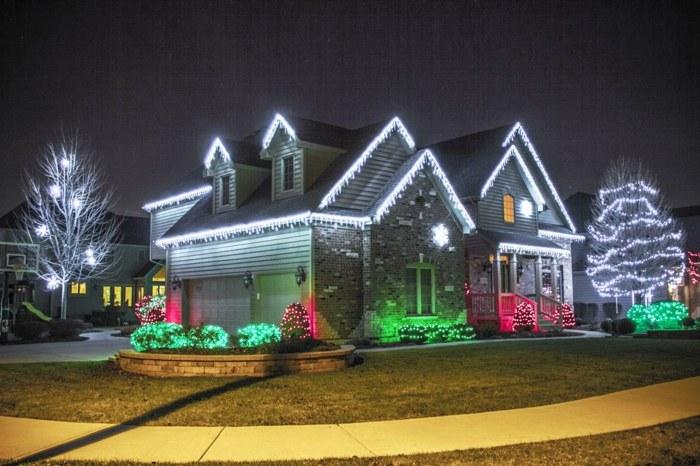 Navidad Iluminacion Exterior En 42 Ideas Impresionantes