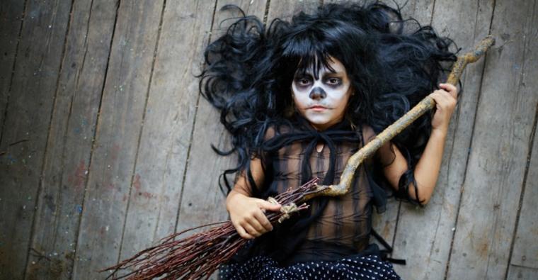disfraces de brujas en Halloween