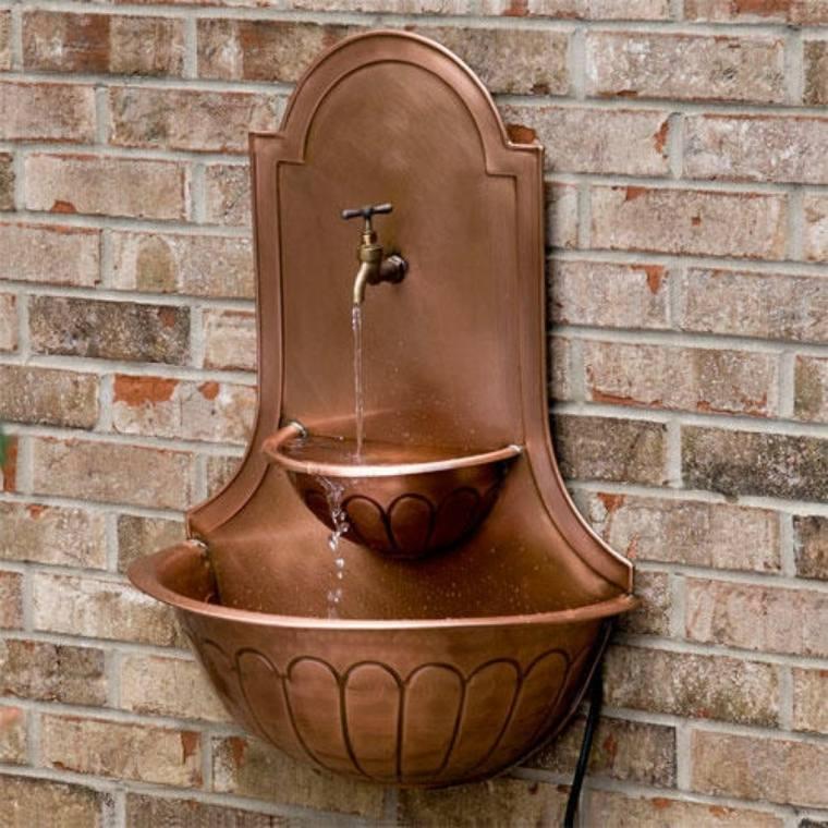 objetos de decoración originales cobre