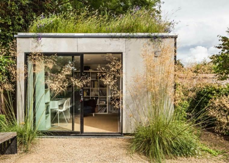oficinas modernas jardin diseno waind gohil architects ideas