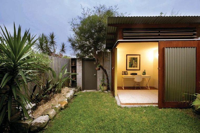 Oficinas modernas en el jardín 24 espacios creativos