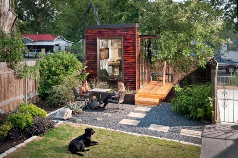 oficinas modernas jardin diseno espacio amplio moderno ideas