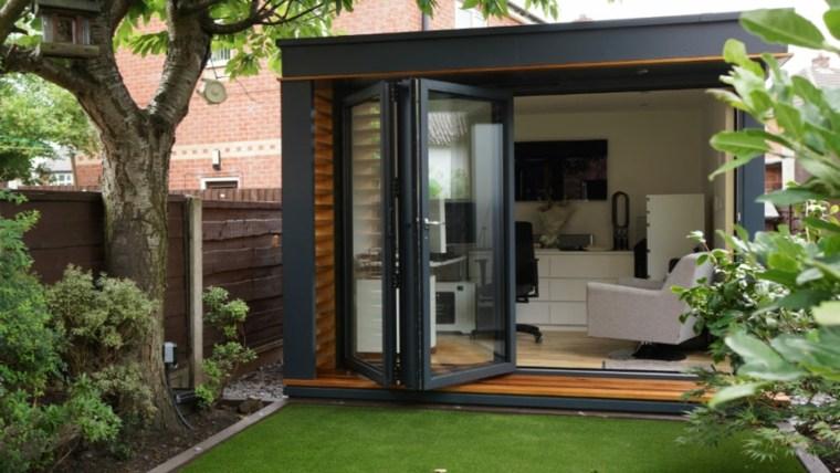 oficinas modernas jardin diseno espacios pequenos ideas