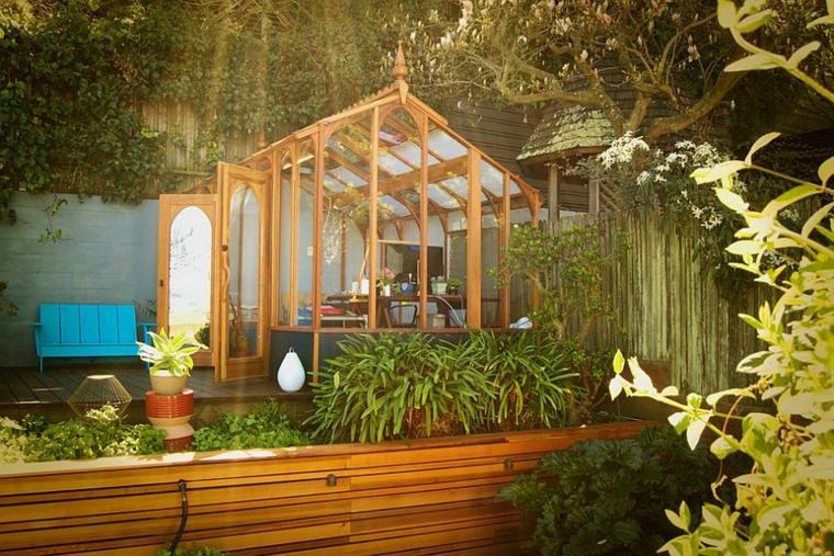 oficinas modernas jardin diseno esquisito rodeado naturaleza ideas