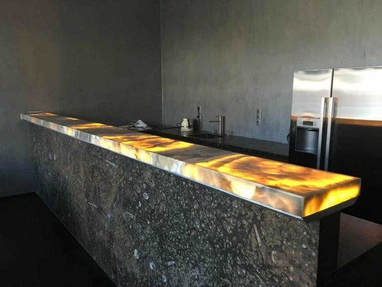 onix piedra que pueden usar en el dise o de interior On barras de onix para cocina