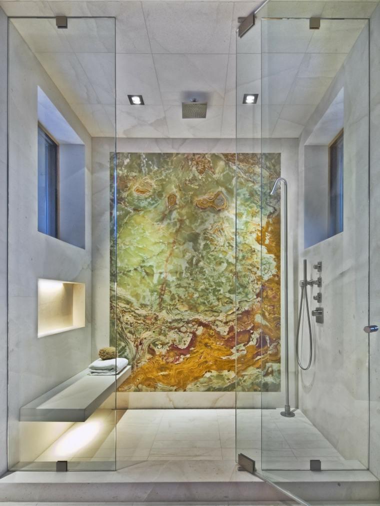 onix piedra diseno interiores opciones originales bano ideas