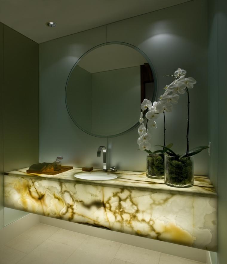 onix piedra lavabo bano moderno diseno elegante ideas