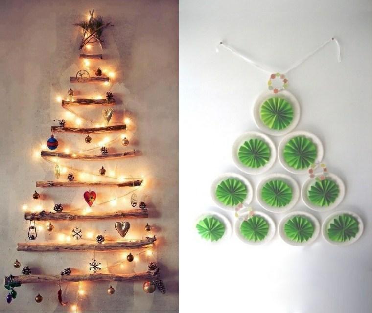 Cosas de navidad 43 ideas de manualidades para decorar - Manualidades para decorar el arbol de navidad ...