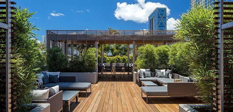 opciones terrazas amplias opciones decoracio estilo moderno