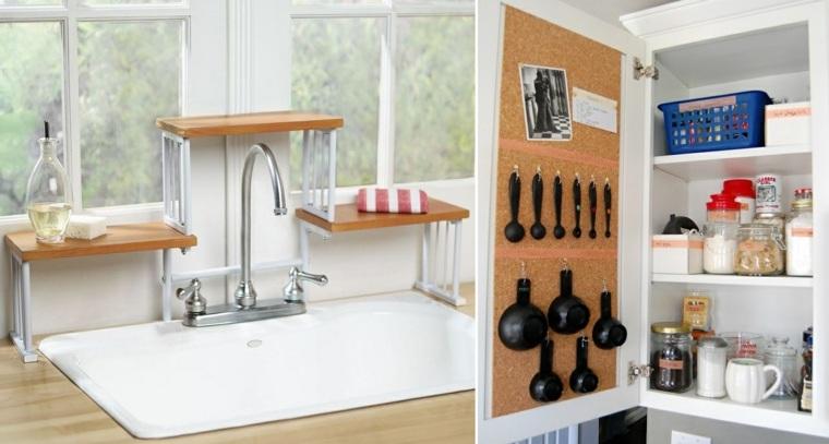 organizar la cocina y ganar espacio