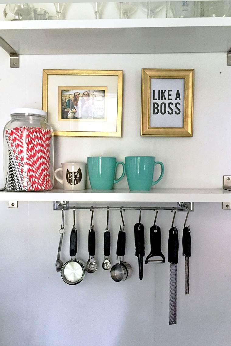 organizar la cocina estanterías