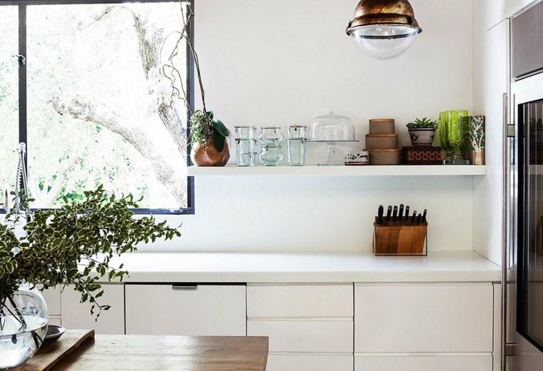 organizar la cocina estantes