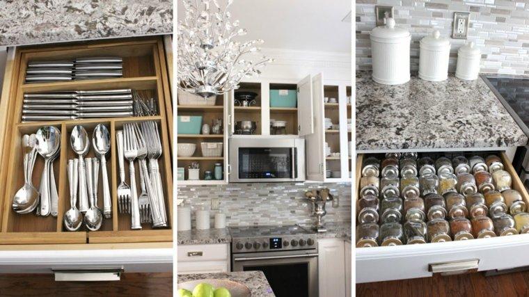 organizar la cocina muebles