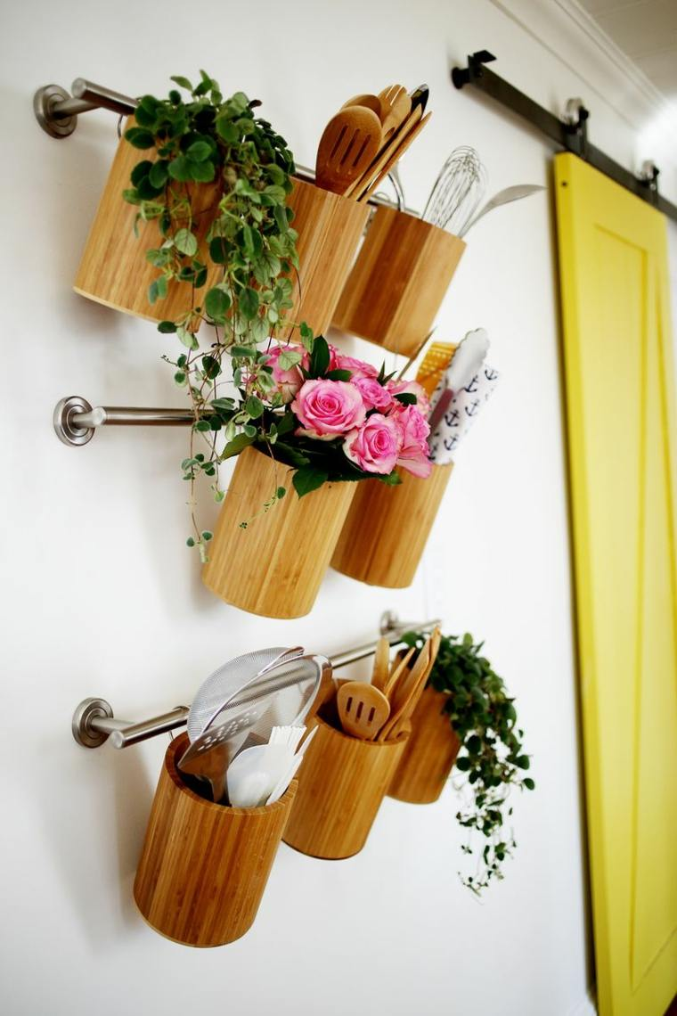 organizar la cocina pared