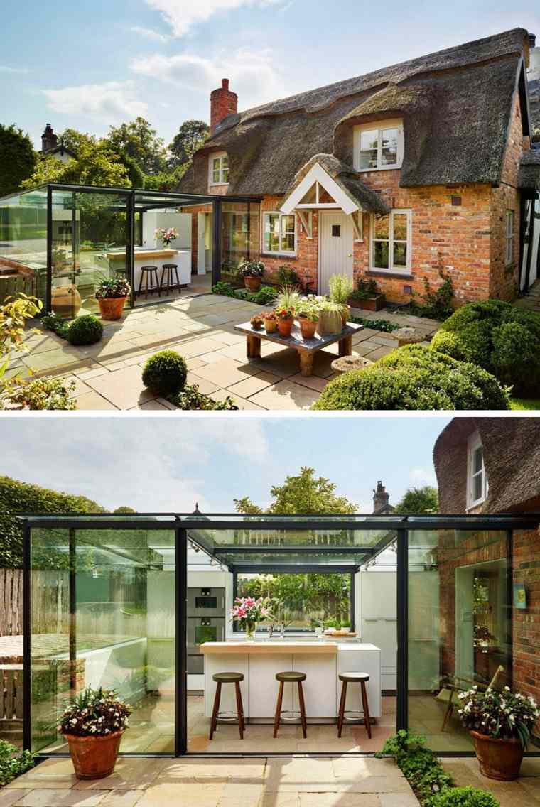 original casa cocina jardin