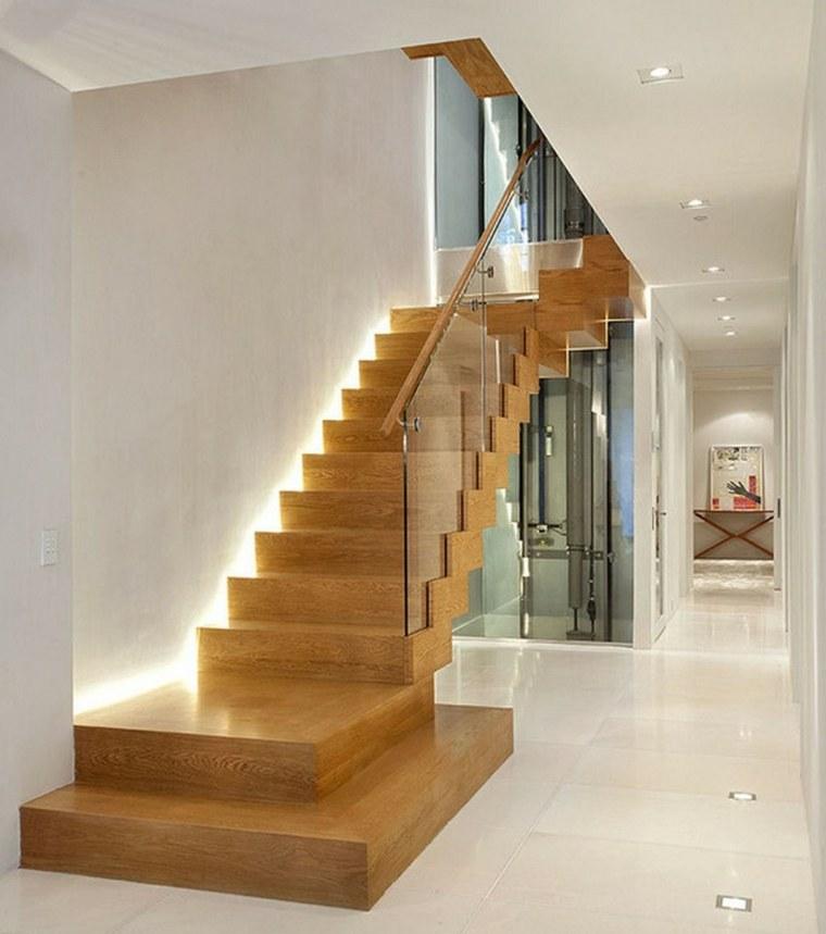 original acento madera escaleras