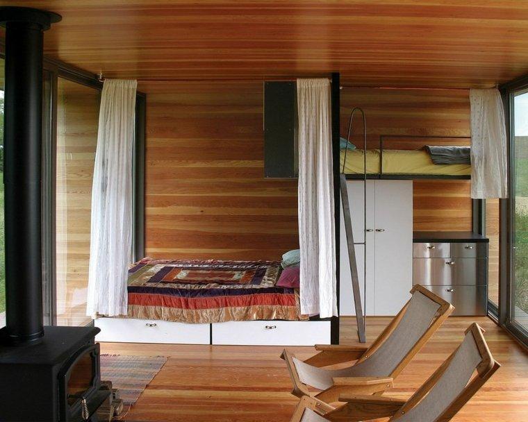 original diseño dormitorio madera