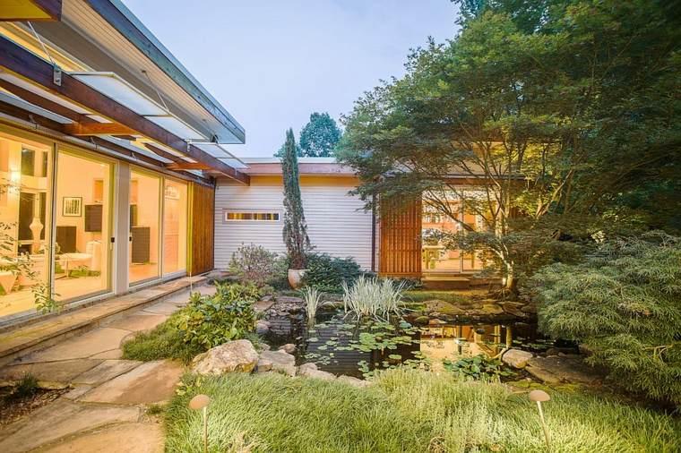 original diseño estanque jardín
