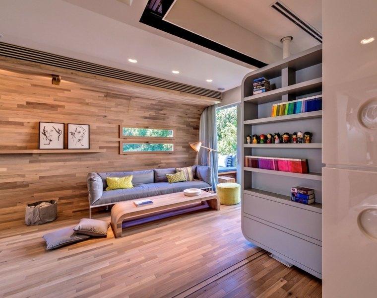 original diseno interior apartamento madera