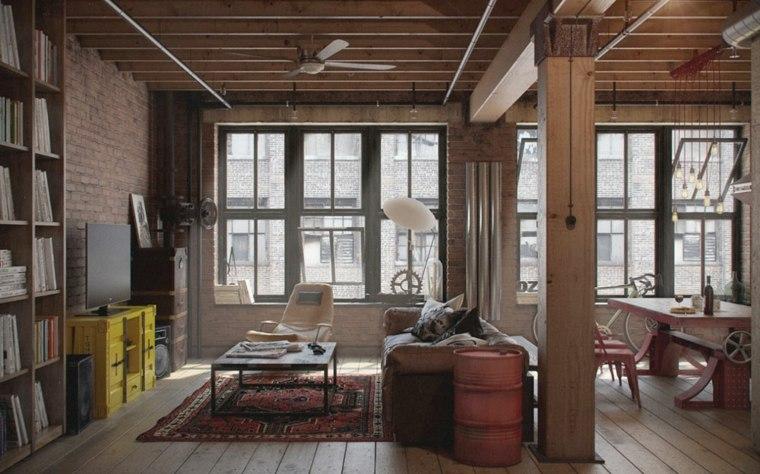 original diseño interior rustico industrial