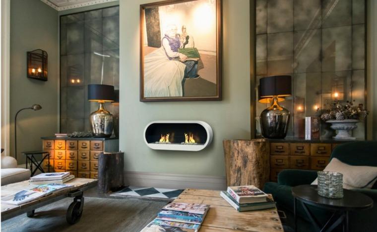 original sala estar con chimenea