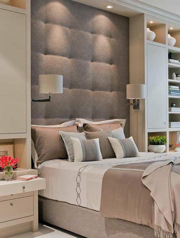 Cabeceros de cama modernos tendencias de 2016 - Cabecero de cama acolchado ...