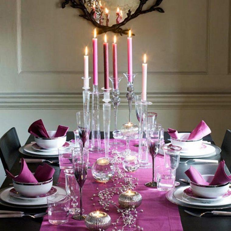 original decoración tonos rosados