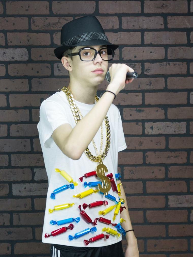 disfraz casero rapero gangster