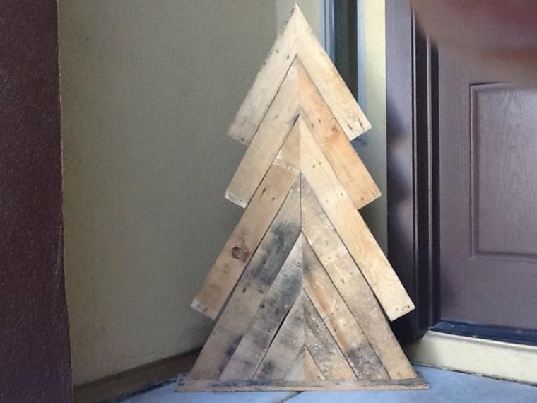 original diseño abeto sencillo madera
