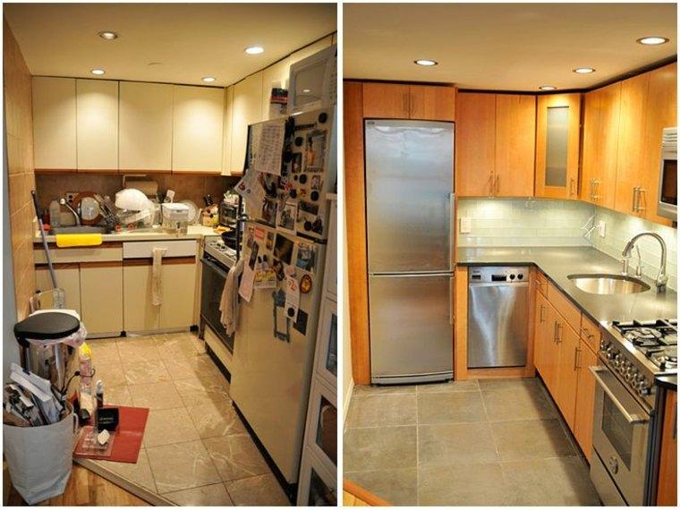 original diseño cocina antes despues
