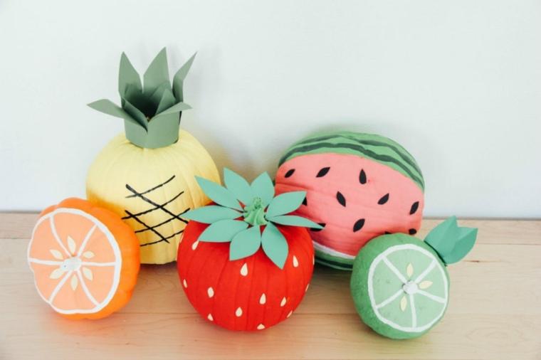original decoracion forma frutas