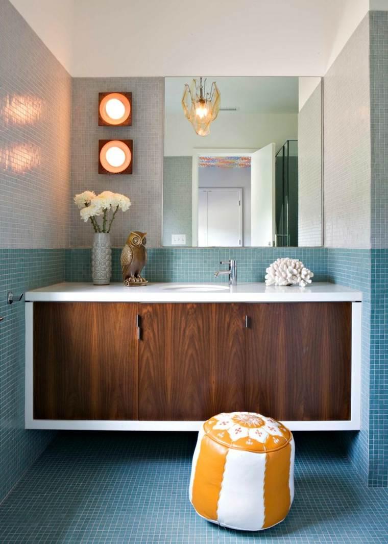 Tocadores y lavabos flotantes para el cuarto de ba o for Diseno bano y antebano