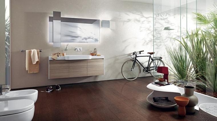 Tocadores y lavabos flotantes para el cuarto de ba o for Cuarto bano diseno