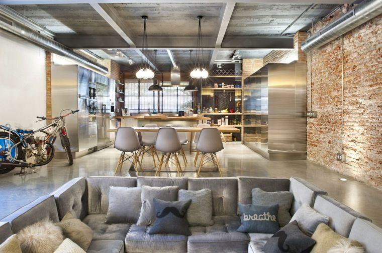 original diseño loft estilo industrial