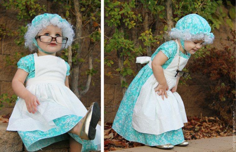 original disfraz de abuelita